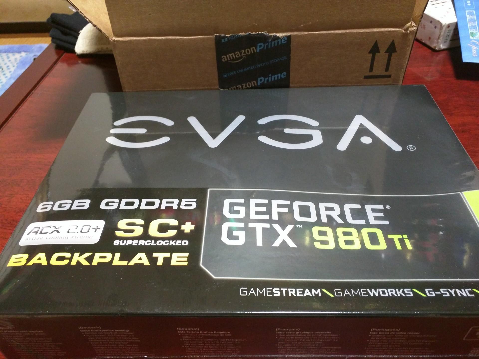 EVGA GTX980Ti レビューみたいな何か