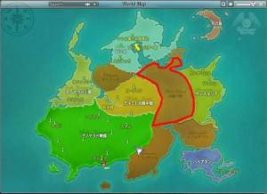 テイルズウィーバーの拡大MAP