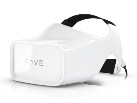 視線追跡型HMD「FOVE」
