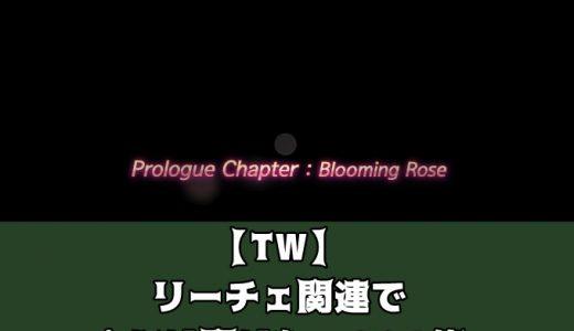 【TW】リーチェ関連で人には聞けないQ&A集